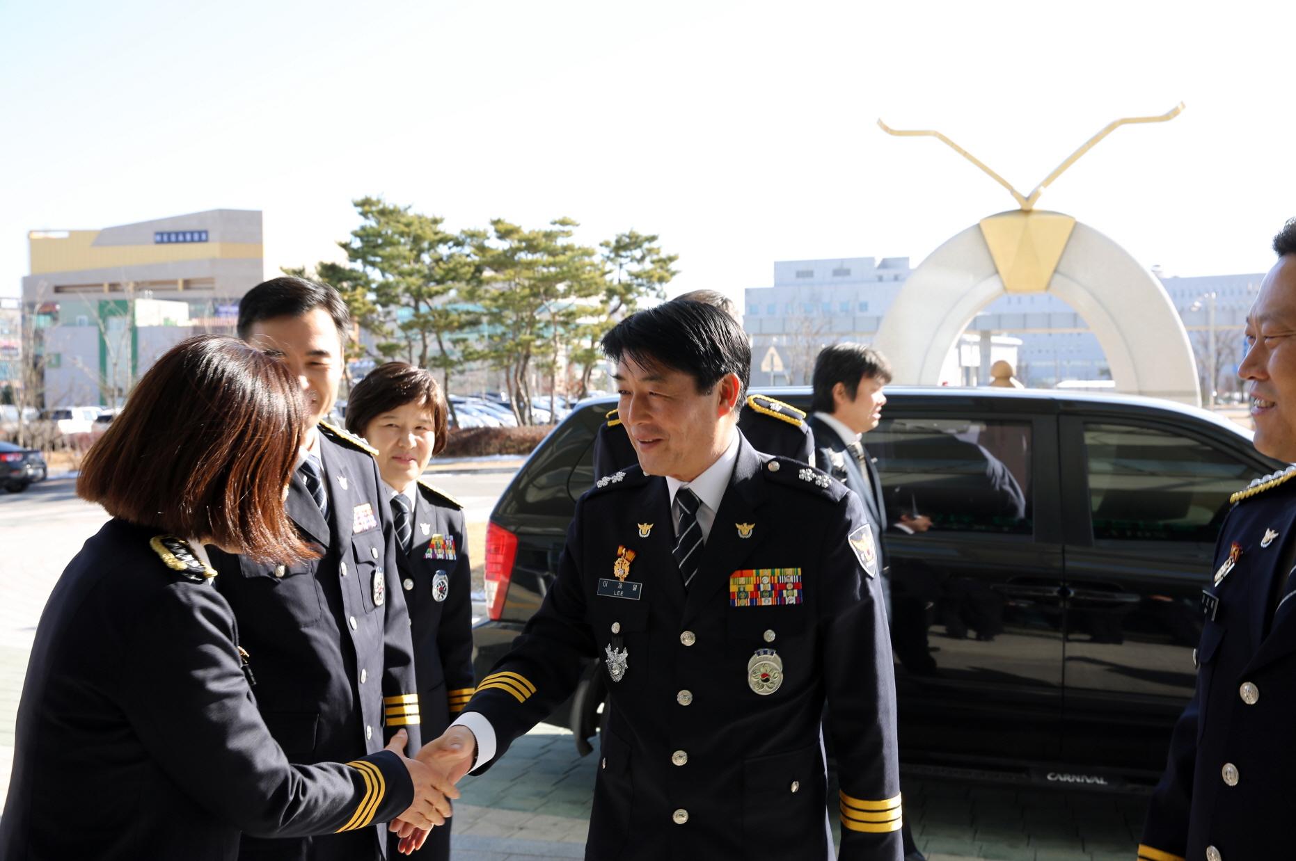 제 29대 이재열 충남경찰청장 취임식