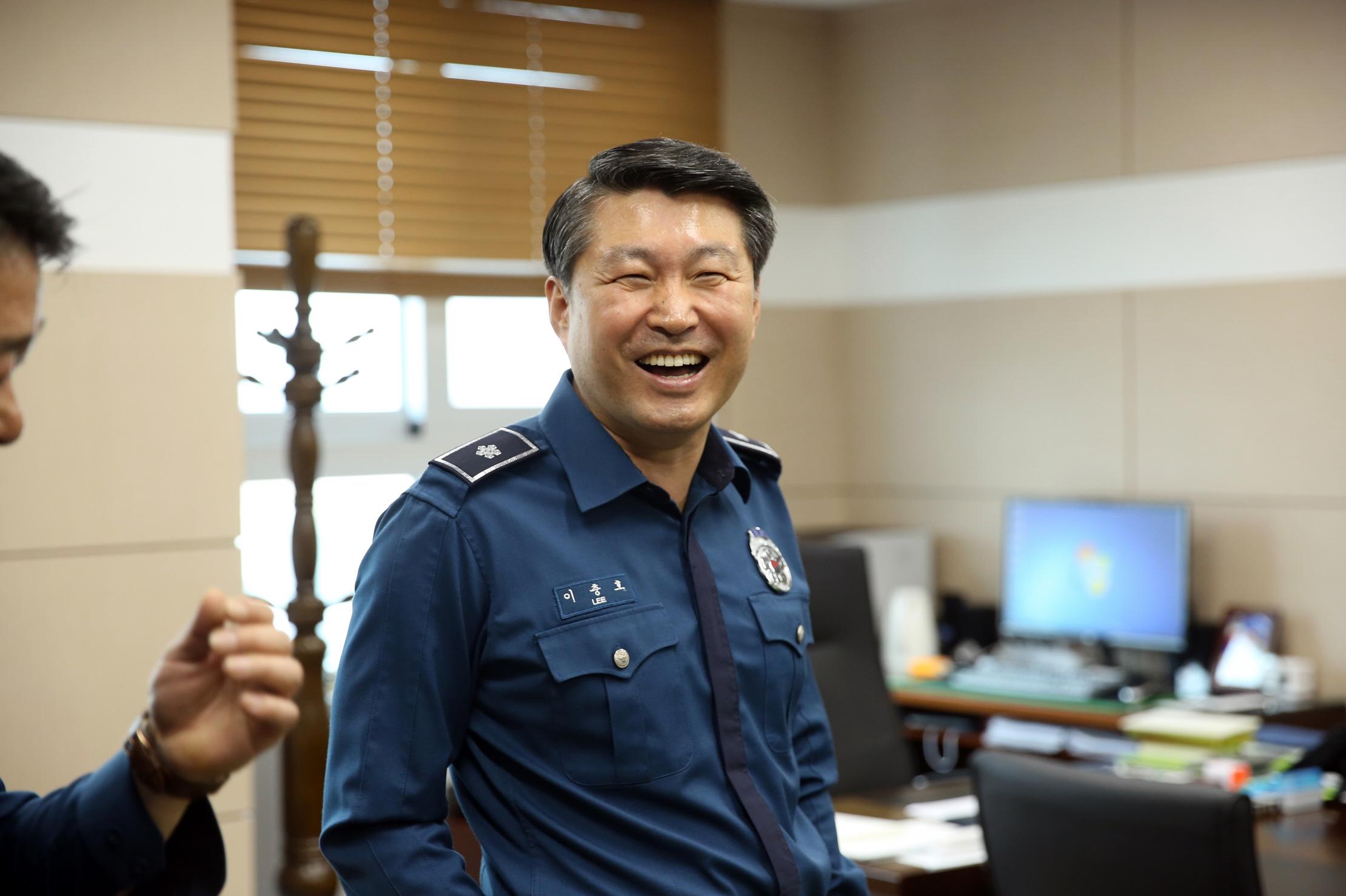 충남경찰청 2부장 이충호 경무관 취임 100일