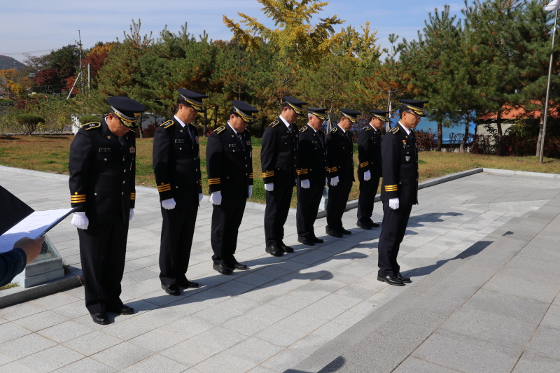10.25 경찰의날 충령탑 참배