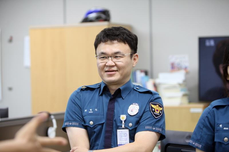 승진임용식 - 경무과 최정우 경장, 전솔 경장